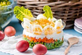 Μια πασχαλινή αυγοσαλάτα από την Ντίνα Νικολάου - Με αρακά και πικάντικη βινεγκρέτ, θα σας ξετρελάνει - Κυρίως Φωτογραφία - Gallery - Video