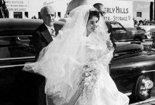 Vintage Pics & video: Η Ελίζαμπεθ Τέιλορ νυφούλα  για τον Conrad  Hilton - Στον πρώτο της γάμο ήταν μόλις 18  - Κυρίως Φωτογραφία - Gallery - Video