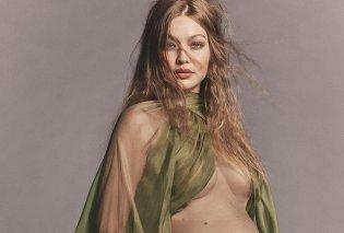 Celebrities που φωτογραφήθηκαν όταν ήταν έγκυες: Από την πιο πρόσφατη Gigi Hadid στο εξώφυλλο της Demi Moore το 1991 (φωτό) - Κυρίως Φωτογραφία - Gallery - Video