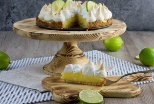 Αργυρώ Μπαρμπαρίγου: Φτιάξτε το απίθανο Τσιζκέικ λεμόνι (Key Lime Pie) που μας έδειξε -  Πανεύκολο γλυκό ψυγείου  - Κυρίως Φωτογραφία - Gallery - Video