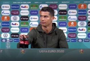 Βίντεο η στιγμή που ο Κριστιάνο Ρονάλντο αρπάζει 2 μπουκάλια Coca - Cola, τα απομακρύνει, πέφτει η μετοχή της εταιρείας! - Κυρίως Φωτογραφία - Gallery - Video