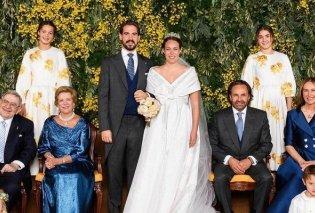 Οι οικογενειακές φωτό μετά τον γάμο: Ο τέως βασιλιάς Κωνσταντίνος & η Άννα Μαρία με το νιόπαντρο ζευγάρι, τα παιδιά & τα εγγόνια τους - Κυρίως Φωτογραφία - Gallery - Video
