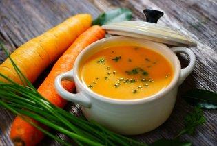 Έκτορας Μποτρίνι: Μας προτείνει υπέροχη καροτόσουπα με λεπτή γεύση και πλούσια υφή - Για την κρύα & βροχερή σημερινή ημέρα - Κυρίως Φωτογραφία - Gallery - Video