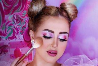 Μακιγιάζ Φθινόπωρο / Χειμώνας 2021 – 2022: Όλα τα φετινά makeup trends - Λιλά σκιές ματιών, έντονο eyeliner, Soap brows  - Κυρίως Φωτογραφία - Gallery - Video