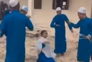 Σοκαριστικό βίντεο κάνει τον γύρο του κόσμου: Δάσκαλοι μαστιγώνουν με βία νεαρή μαθήτρια, μπροστά στον πατέρα της - επειδή ήπιε αλκοόλ  - Κυρίως Φωτογραφία - Gallery - Video