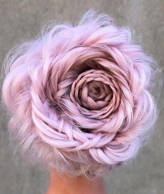19968d78ffd4 Αυτά τα υπέροχα λουλούδια είναι... μαλλιά - Περίτεχνα χτενισμένα και με  περίεργα χρώματα βαμμένα (ΦΩΤΟ)
