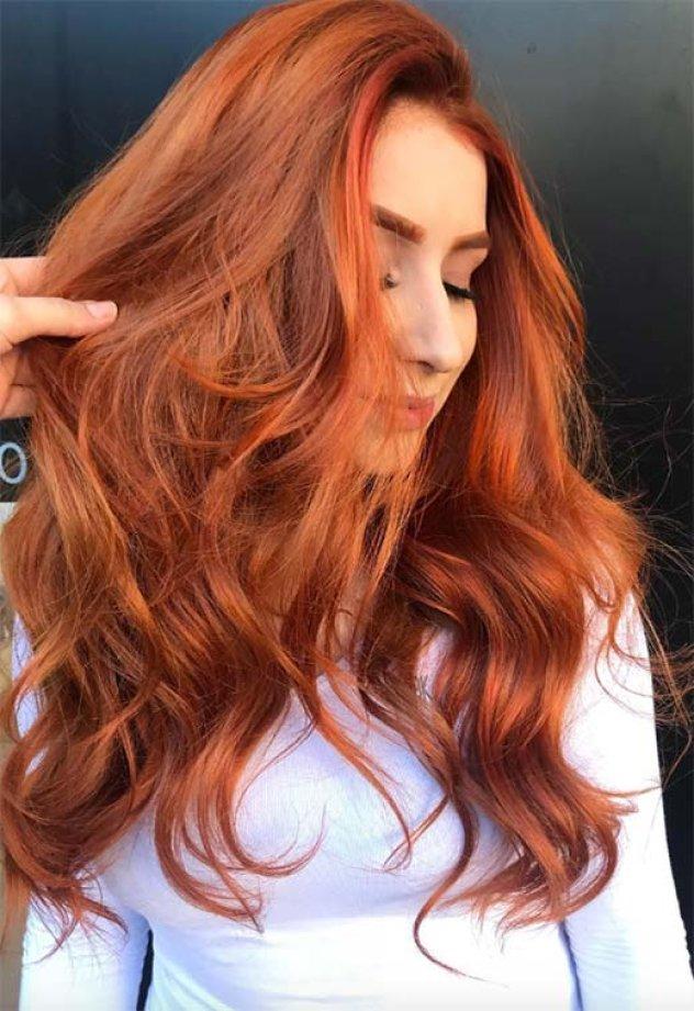 53 υπέροχες αποχρώσεις για τα μαλλιά σας   Το Ginger Hair Color που ... a280bf6c805