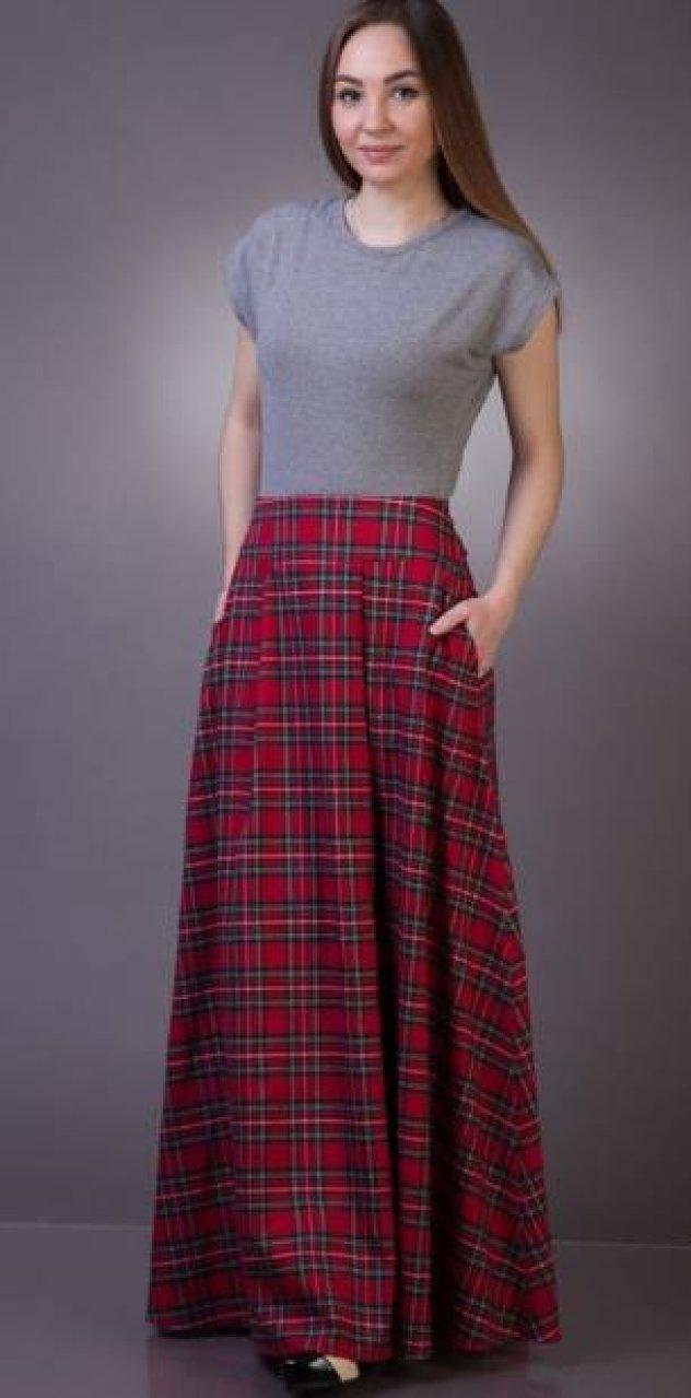 Έχετε σκωτσέζικη φούστα  Ιδού 29 φανταστικά γυναικεία outfits που θα την  απογειώσουν - Φώτο 094b3dd2e71