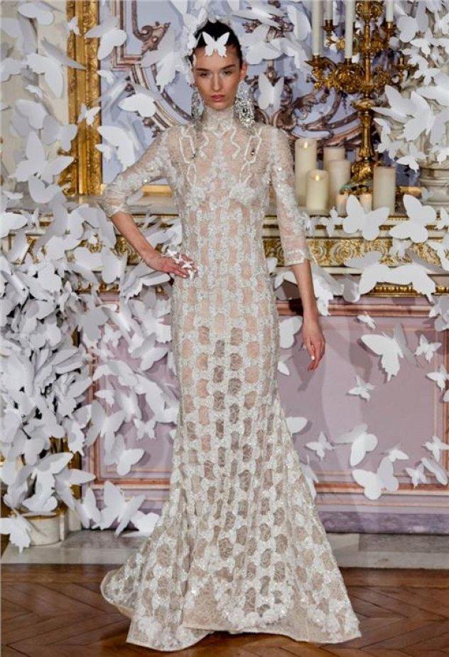 b5da39f50711 Αυτές είναι οι νέες τάσεις στο νυφικό  Παριζιάνικη Haute Couture για να  θαυμάσετε κυρίες μου! (φωτογραφίες)