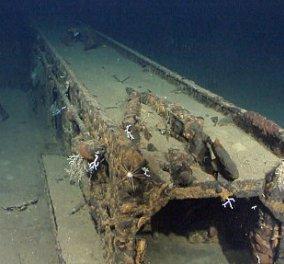 Συγκλονιστικές εικόνες: Το ναυάγιο του θωρηκτού της μεγαλύτερης ναυμαχίας του Β' Παγκ. Πολέμου! Έκπληξη ποιος Κροίσος τα βρήκε! - Κυρίως Φωτογραφία - Gallery - Video