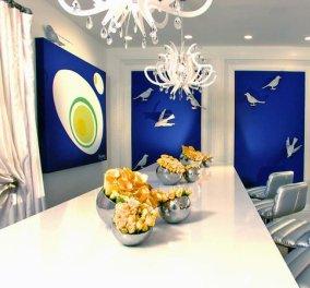 Στολίστε το σπίτι σας στα μπλε: Προτάσεις Διακόσμησης με το απόλυτο Ελληνικό χρώμα! - Κυρίως Φωτογραφία - Gallery - Video