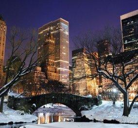 Πάμε να ταξιδέψουμε στη χιονισμένη Νέα Υόρκη: Το πανέμορφο Central Park τυλιγμένο στο χιόνι! (slideshow) - Κυρίως Φωτογραφία - Gallery - Video