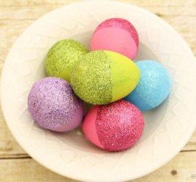 Δείτε τις πιο πρωτότυπες ιδέες βαφής για τα πασχαλινά αυγά με εντυπωσιακά σχέδια! - Κυρίως Φωτογραφία - Gallery - Video