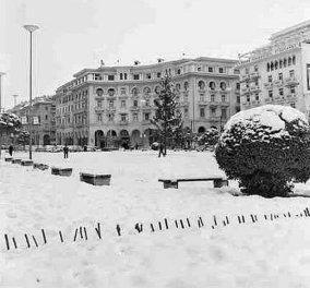 Χιονισμένη Θεσσαλονίκη σε μια μοναδική φωτογραφική συλλογή! - Κυρίως Φωτογραφία - Gallery - Video
