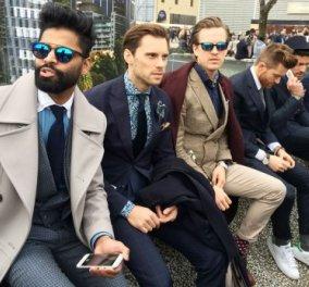 Δείτε γιατί οι Ιταλοί οι άνδρες όχι μόνο οι γυναίκες είναι αξεπέραστοι στο στυλ : Street fashion απωγειωτικό! (slideshow) - Κυρίως Φωτογραφία - Gallery - Video