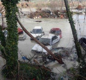 Σε κατάσταση έκτακτης ανάγκης Ήπειρος και Ευρυτανία - Φωτογραφίες και βίντεο των βιβλικών καταστροφών! - Κυρίως Φωτογραφία - Gallery - Video