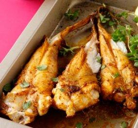 Πεσκανδρίτσα στο φούρνο με πάπρικα και ρίγανη - Μία εκπληκτική συνταγή από την Ν. Ισμυρνόγλου! - Κυρίως Φωτογραφία - Gallery - Video
