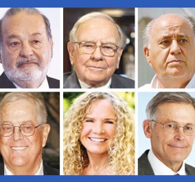 Forbes: Ο Μπιλ Γκέιτς ο πλουσιότερος άνθρωπος του κόσμου ξανά με 79,2 δις περιουσία - Ακολουθούν Κάρλος Σλιμ & Γουόρεν Μπάφετ! - Κυρίως Φωτογραφία - Gallery - Video