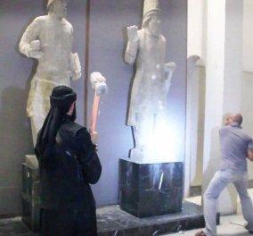 Συγκλονιστικό βίντεο - Η στιγμή που με τα σφυριά οι Τζιχαντιστές κάνουν κομμάτια συναρπαστικές αρχαίες πόλεις! - Κυρίως Φωτογραφία - Gallery - Video