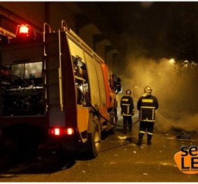 Πανικός τα ξημερωματα από φωτιά σε ξενοδοχείο της Θεσσαλονίκης! - Κυρίως Φωτογραφία - Gallery - Video