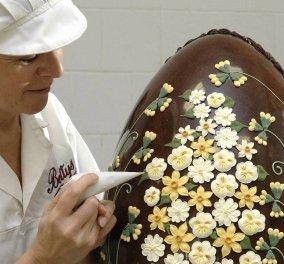 Εντυπωσιακό βίντεο - Δείτε πως δημιουργούν τα μεγάλα Πασχαλινά αυγά! - Κυρίως Φωτογραφία - Gallery - Video