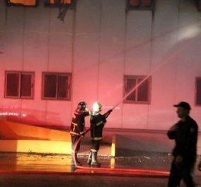 Κάηκε το εργοστάσιο της ΔΕΛΤΑ - Καταστράφηκε το παρασκευαστήριο και πολλές ακόμα σοβαρές ζημιές! - Κυρίως Φωτογραφία - Gallery - Video