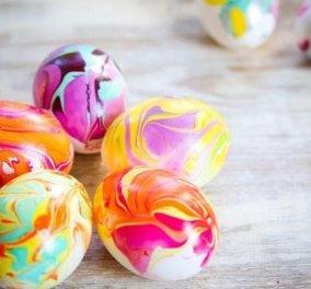 Βάψτε τα αυγά σας φέτος με χρώματα από τη φύση: Με παντζάρι, κόκκινο λάχανο, κουρκουμά, κρεμμύδι!  - Κυρίως Φωτογραφία - Gallery - Video