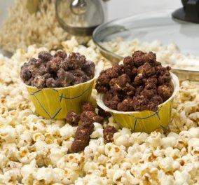 Σοκολατένιο ποπκόρν για να απολαύσετε τις ταινίες σας με γλύκα από τον Στέλιο Παρλιάρο! - Κυρίως Φωτογραφία - Gallery - Video