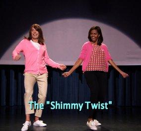 Όχι δεν είναι η Ριάνα, ούτε η Μπιγιονσέ - Η Μισέλ Ομπάμα παραδίδει μαθήματα zumba! (βίντεο) - Κυρίως Φωτογραφία - Gallery - Video