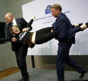 Είδατε τις εικόνες που κάνουν σηκωτή την ψευτοδημοσιογράφο; Τα έκανε λίμπα με τον Ντράγκι...  - Κυρίως Φωτογραφία - Gallery - Video