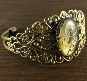 Vintage pics: Αριστουργηματικά νέα κοσμήματα φτιαγμένα κομμάτι-κομμάτι από παλιά ρολόγια! - Κυρίως Φωτογραφία - Gallery - Video