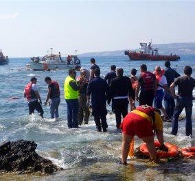 Νέο ναυάγιο με 200 μετανάστες στη Ρόδο: Τέσσερις νεκροί, παραμένουν άνθρωποι στη θάλασσα! (Σκληρές εικόνες) - Κυρίως Φωτογραφία - Gallery - Video
