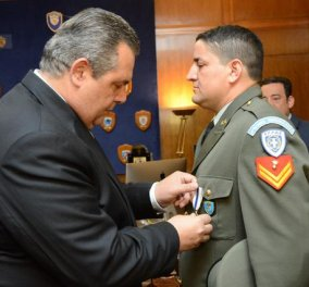 Story: Ο Λοχίας Αντώνιος Ντεληγιώργης - διέσωσε 20 ανθρώπους στη Ρόδο - τιμήθηκε με το μετάλλιο Εξόχου Πράξεως - Κυρίως Φωτογραφία - Gallery - Video