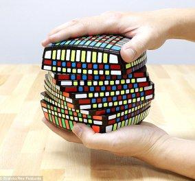 Ο νέος κύβος του Ρούμπικ δεν λύνεται! 18 φορές δυσκολότερος με 1014 τετραγωνάκια! (βίντεο) - Κυρίως Φωτογραφία - Gallery - Video