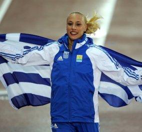 Topwoman η Νικόλ Κυριακοπούλου για ακόμα μια φορά - ''Απογειώθηκε'' στα 4,73μ. στη Σαγκάη - Κυρίως Φωτογραφία - Gallery - Video