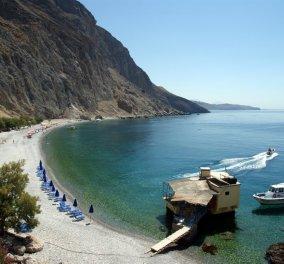 Τραγικός θάνατος τουρίστριας στην Κρήτη που καταπλακώθηκε από βράχους στην παραλία Γλυκά Νερά  - Κυρίως Φωτογραφία - Gallery - Video