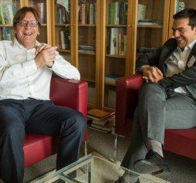 Γ. Φερχόφσταντ στο BBC: Ενδεχόμενο Grexit σημαίνει ότι οι Έλληνες θα χάσουν το 30% της αγοραστικής τους αξίας - Κυρίως Φωτογραφία - Gallery - Video