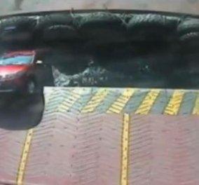 Βίντεο ημέρας: Οδηγοί κάνουν σάλτο με τα αμάξια τους ο ένας στη θάλασσα ο άλλος σε δρόμο...  - Κυρίως Φωτογραφία - Gallery - Video