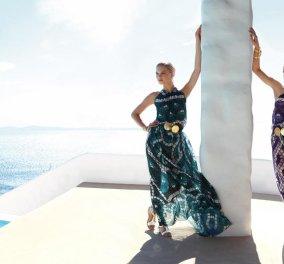 "Made in Greece η collection ""Myconos"" της Έλενας Μακρή Λυμπέρη - Και σχεδιάστρια η ""lady"" των περιοδικών - Κυρίως Φωτογραφία - Gallery - Video"
