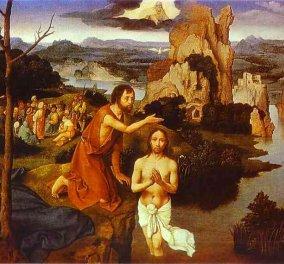 Vintage Story: Όταν ο Ιησούς Χριστός ξεχώρισε μέσα στο πλήθος τον Ιωάννη - Τι συζήτησαν μεταξύ τους πριν τον βαπτίσει;  - Κυρίως Φωτογραφία - Gallery - Video
