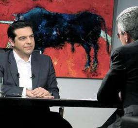 Tίναξε την μπάνκα της τηλεθέασης στον αέρα η συνέντευξη του Α. Τσίπρα στο Star και τον ''Ενικό'' - Κυρίως Φωτογραφία - Gallery - Video