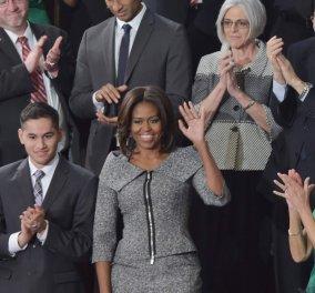 Έχετε δει το σακάκι που ξεπούλησε σε μια μέρα όταν το φόρεσε η Μισέλ Ομπάμα;  - Κυρίως Φωτογραφία - Gallery - Video