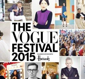 Louboutin, Galianο, JP Gaultier: Πήγαμε στο Φεστιβάλ της Vogue στο Λονδίνο & να τι είδαμε - Κυρίως Φωτογραφία - Gallery - Video