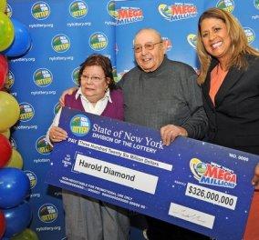 Story: Η...γκρίνια της γυναίκας του 80χρονου Χάρολντ Ντάιαμοντ, του χάρισε 326 εκατ. δολάρια στο ΛOTTO! (φωτό - βίντεο) - Κυρίως Φωτογραφία - Gallery - Video