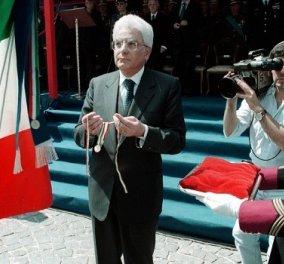 Αυτός είναι ο νέος Πρόεδρος της Ιταλίας, ο δικαστής Σέρτζιο Ματαρέλα! (Φωτό) - Κυρίως Φωτογραφία - Gallery - Video