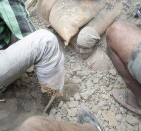 Νεπάλ σεισμός: Συγκλονιστικές εικόνες & βίντεο από την μαμούθ 7,9 δόνηση που αφήνει νεκρούς & ερείπια  - Κυρίως Φωτογραφία - Gallery - Video