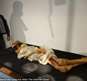 Η 2.500 ετών μούμια που τρομοκρατεί τη Ρωσία - Η πριγκίπισσα που βρέθηκε πριν 21 χρόνια στους πάγους και η «κατάρα» της! - Κυρίως Φωτογραφία - Gallery - Video