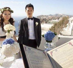 Good News: Κινέζοι, Ινδοί, Αμερικανοί, Ρώσοι, Βρετανοί & Ολλανδοί έρχονται στην χώρα μας να παντρευτούν & ''ανθίζουν'' τον τουρισμό! - Κυρίως Φωτογραφία - Gallery - Video