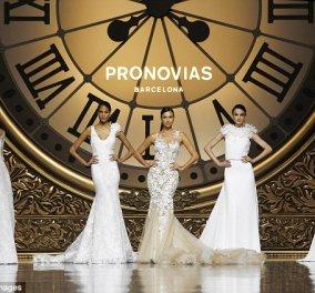 Ιρίνα Σάικ: Φόρεσε ένα συγκλονιστικό Pronovias κολλητό νυφικό & προκαλεί τον Μπράντλευ Κούπερ - Κυρίως Φωτογραφία - Gallery - Video