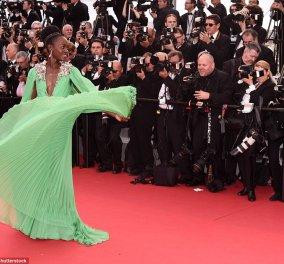 Φεστιβάλ Καννών: Το φόρεμα υπερπαραγωγή της συγκλονιστικής Λουπίτα Νιόνγκο & το old glamour της Ι. Ροσελίνι και της Κ. Ντενέβ - Κυρίως Φωτογραφία - Gallery - Video